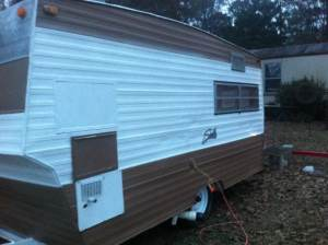 travel trailer full side view
